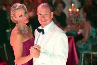Monacói hercegi pár (albert herceg, monacói herceg, charlene hercegnő)