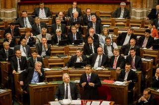 Orbán Viktor, Fidesz-frakció, parlament (parlament)