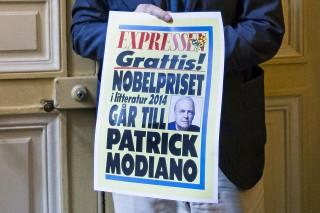 Patrick Modiano  (Patrick Modiano irodalmi Nobel-díj)