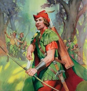 Robin Hood mese (robin hood,)