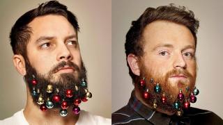 Szakálldísz 1 (szakáll, dísz, karácsony, )