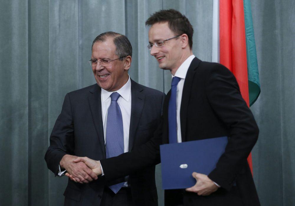 Szijjártó és Lavrov (szijjártó péter, lavrov, )