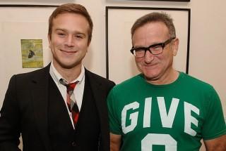 Zak Williams és Robin Williams (robin williams, )