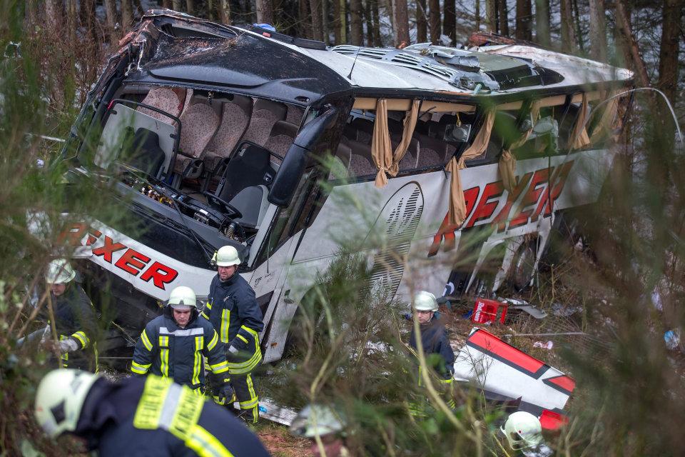 buszbaleset németországban (buszbaleset)