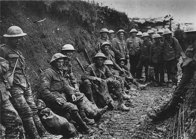 első világháborús lövészárok (lövészárok, első világháború, )