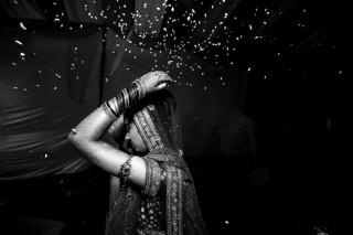 indiai nő (nő, menyasszony, india, )