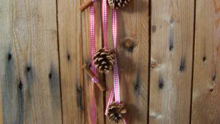 karácsonyi girland (karácsonyi girland, dekoráció, Karácsony, gasztro home)