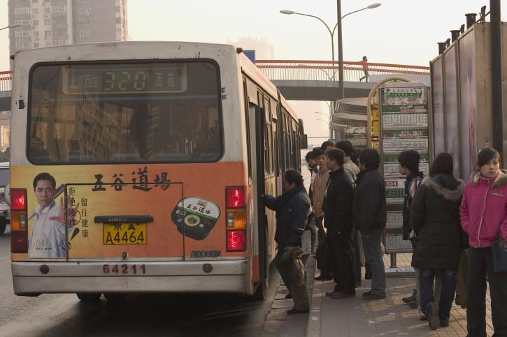 kínai busz (busz, kína, )