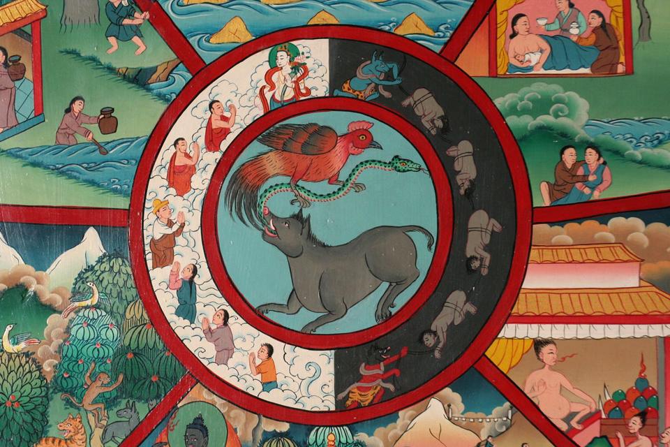 létkerék (létkerék, buddhizmus, )