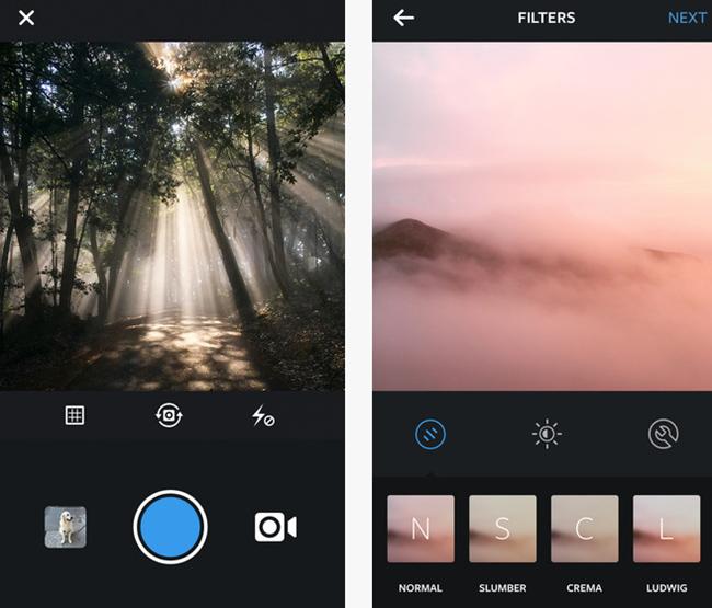 tn-inst (technet, megapixel, szoftver, alkalmazás, instagram, szűrő, iOS, Android)