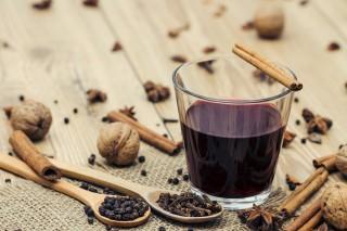 vörös bor Karácsony (vörös bor, gasztro, Hódos Hajni)