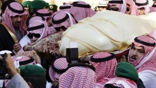 A szaúdi király temetése (szaúd-arábia, )