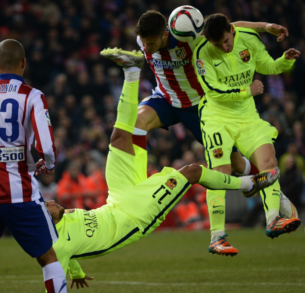 Atlético-Barca (atlético madrid, barcelona, )