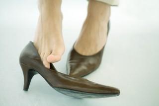 Láb (láb, lábfej, cipő, női cipő, )