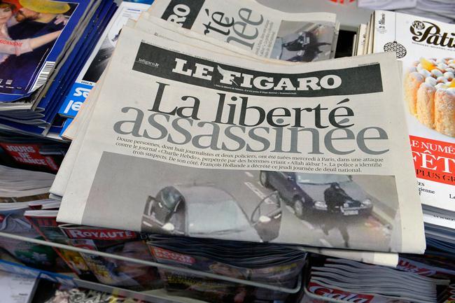 Le Figaro (le figaro, charlie hebdo, merénylet)