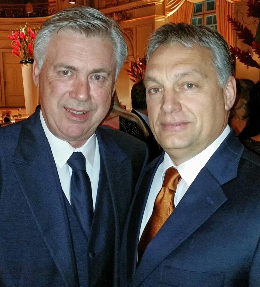 Orbán és Ancelotti (orbán viktor, carlo ancelotti, )