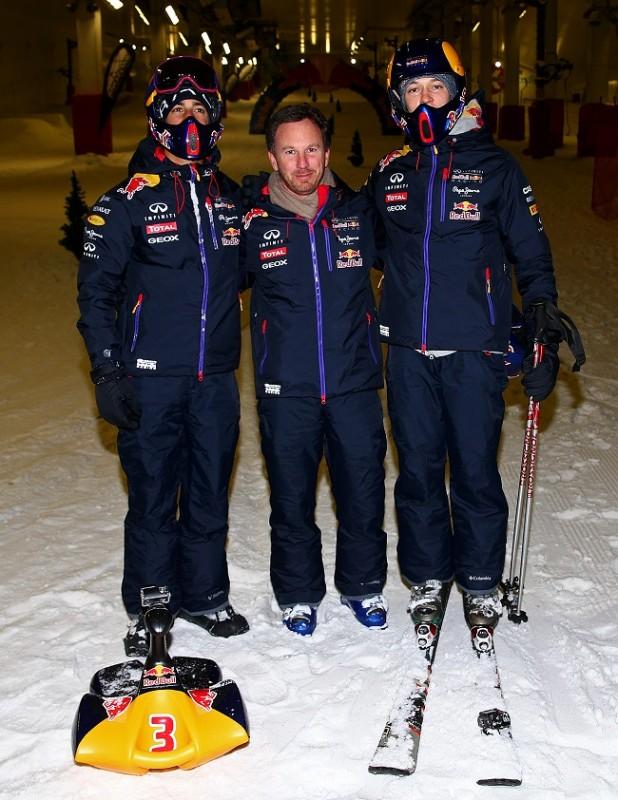Red Bull racing (red bull racing, christian horner, daniel ricciardo, daniil kvyat, )
