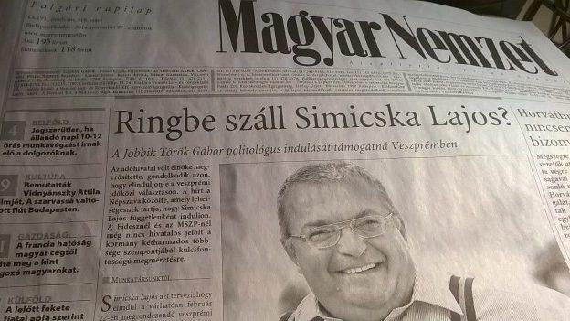 Simicska Lajos címlapon (simicska lajos)