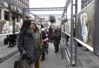 auschwitzi évfordulóra kiállítás (auschwitz, túlélő, kiállítás)