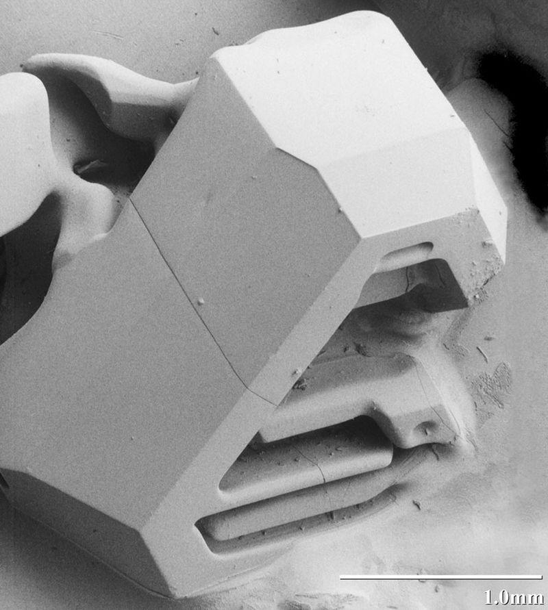 hó elektronmikroszkóp alatt 3 (hó, elektronmikroszkóp,)