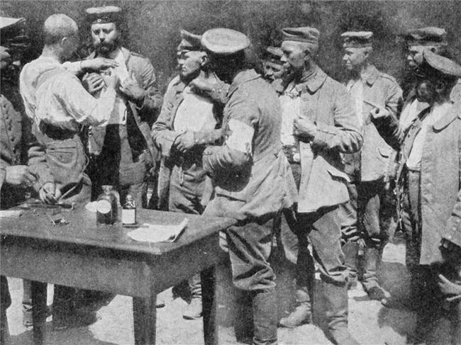 kolera elleni oltás (kolera elleni oltás, első világháború)