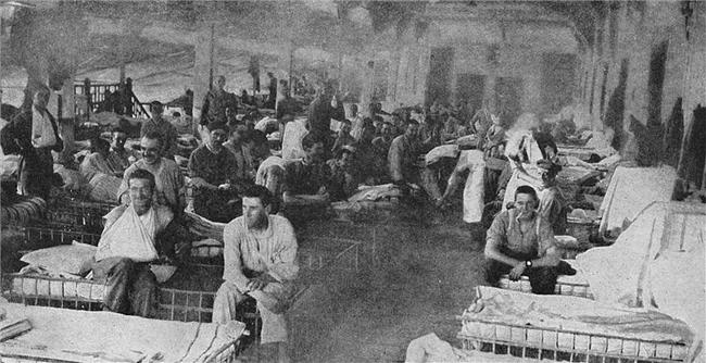 lábadozó betegek (lábadozó betegek, első világháború)