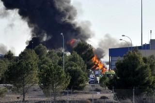 légikatasztrófa Spanyolországban (légikatasztrófa, spanyolország)