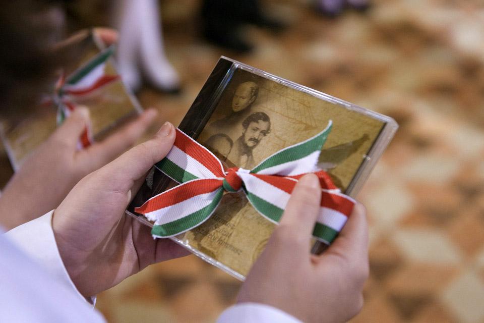 magyar himnusz  (magyar himnusz megzenésítve, CD, magyar kultóúra napja)