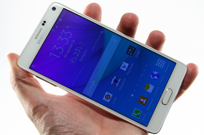 mp-nn04 (mobilport, teszt, samsung, galaxy, note, phablet, android, lollipop, okostelefon)