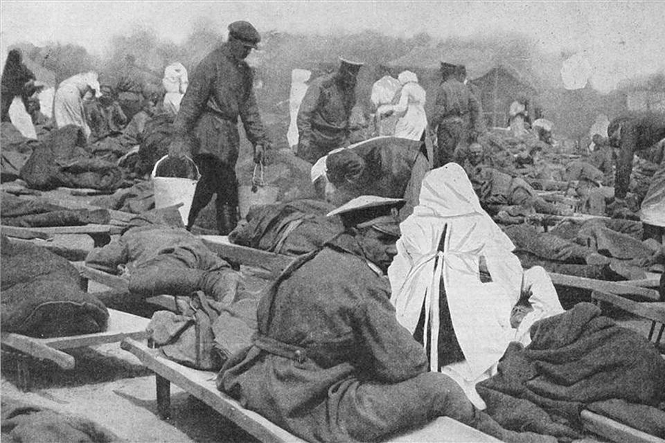 orosz hadiállapotok (orosz hadiállapotok, első világháború)