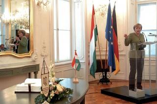 Angela Merkel, 2007, Andrássy Egyetem (Angela Merkel, 2007, Andrássy Egyetem)