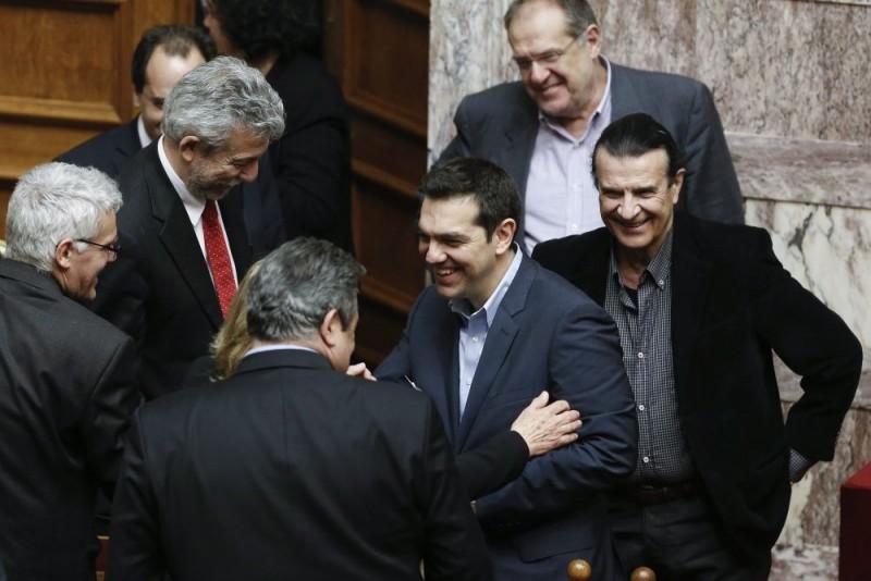 Bizalmi szavazás után Görögországban - Ciprász (alekszisz ciprasz, görögország, )