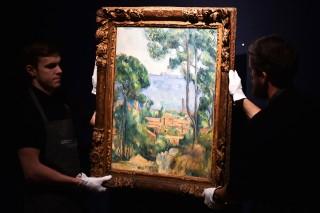 Cézanne Trees (Cézanne Trees, festmény)