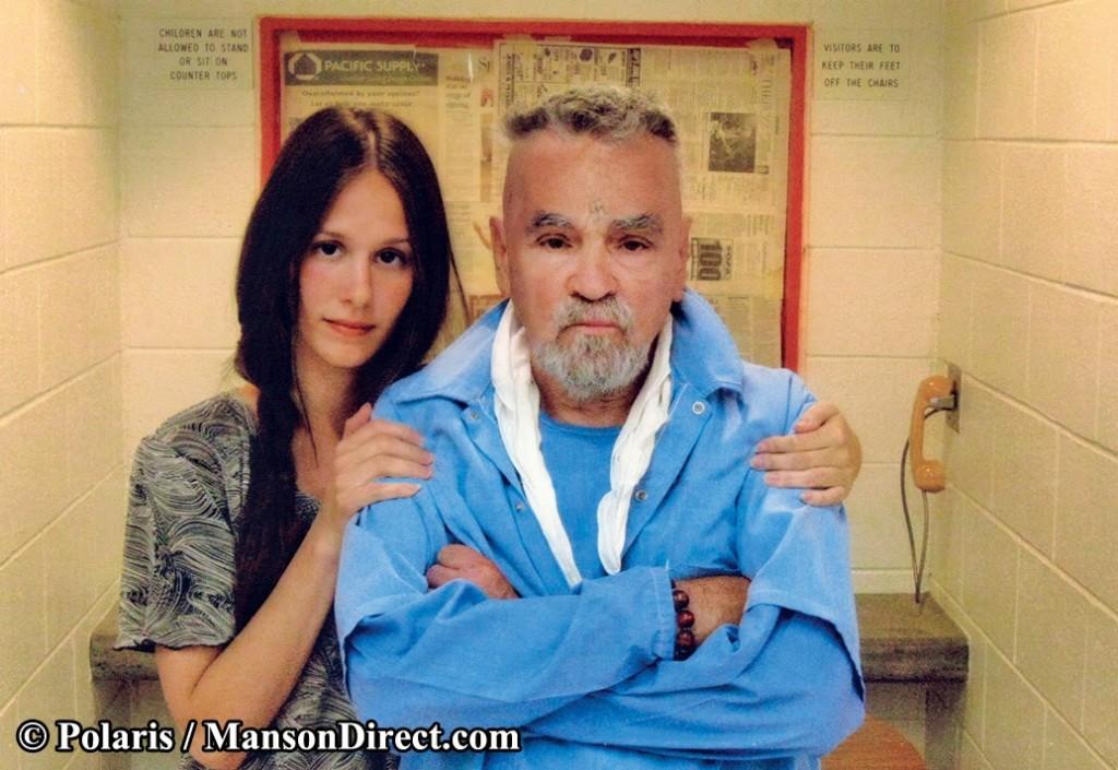 Charles Manson és Elaine Burton  (charles manson, )