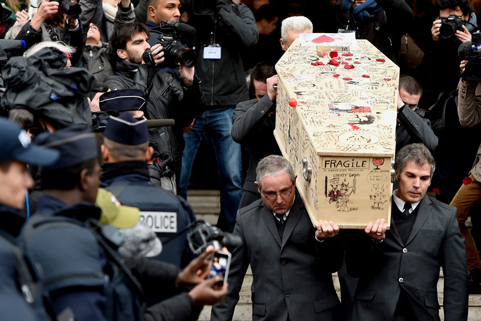 Charlie Hebdo temetés (Charlie Hebdo temetés)
