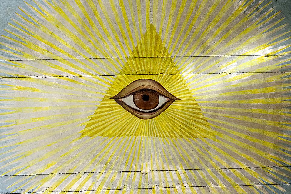 Isten (Isten ábrázolás, Isten szeme, szentháromság, mindent látó szem)