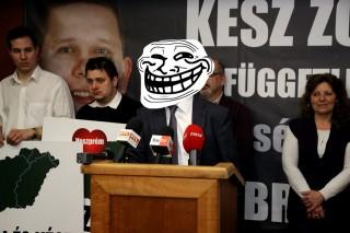 Kész Zoltán troll (Kész Zoltán, troll)