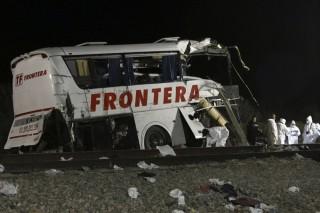 Közlekedési baleset Mexikóban (baleset, )