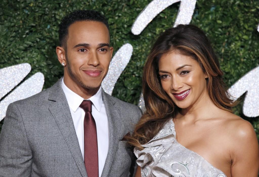 Lewis Hamilton, Nicole Scherzinger (lewis hamilton, nicole scherzinger, )