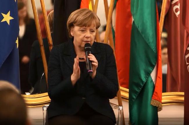Merkel az Andrássyn (Merkel, Andrássy Egyetem)