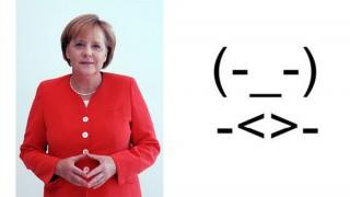 Merkel emotikon (angela merkel, emotikon, )