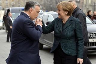 Merkel kézcsók (Merkel kézcsók)