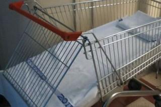bevásárlókocsi kórház (bevásárlókocsi)