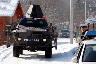 boszniai rendőrségi akció (bosznia, rendőrség)