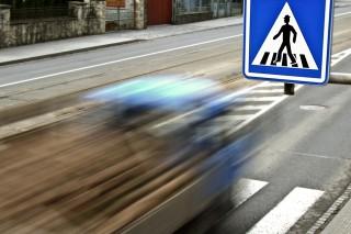 gyalogos gázolás (gyalogos gázolás, baleset, forgalom, )
