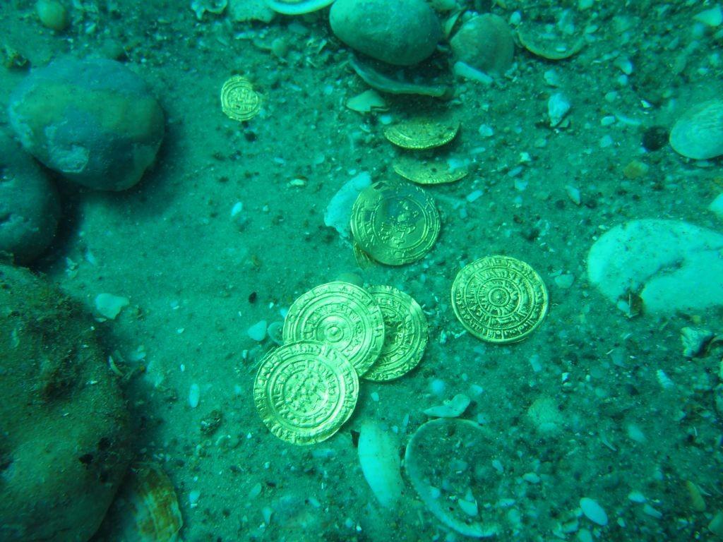 izraeli aranykincs 1 (arany, érme, régészeti lelet, )