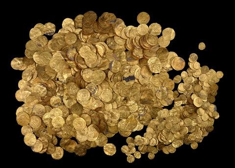 izraeli aranykincs 2 (arany, érme, régészeti lelet, )