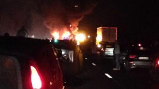 kamion-busz baleset Franciaország (baleset, kamion, busz)
