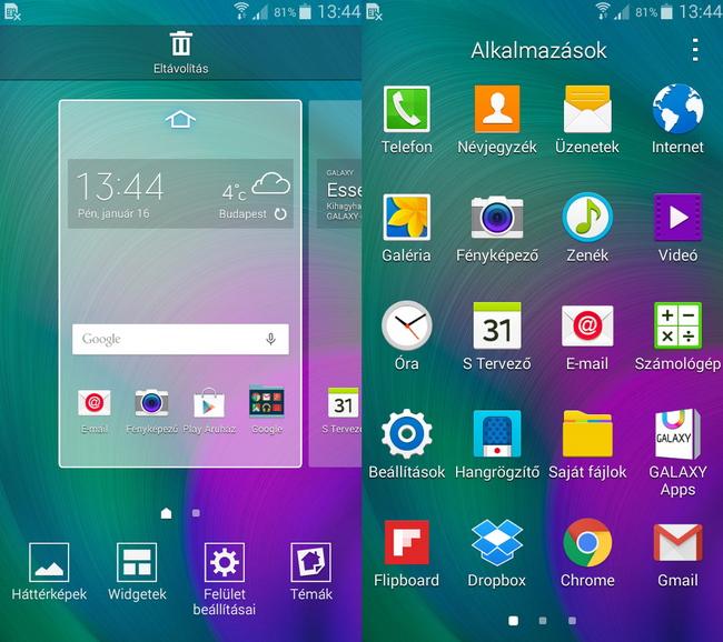 mp-a15 (mobilport, teszt, samsung, galaxy, android, okostelefon, prémium)