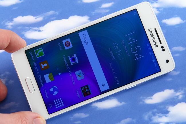 mp-a501 (mobilport, teszt, samsung, galaxy, android, okostelefon)